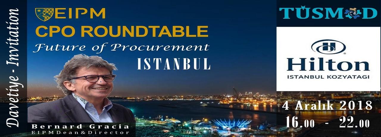 TÜSMOD Roundtable Istanbul