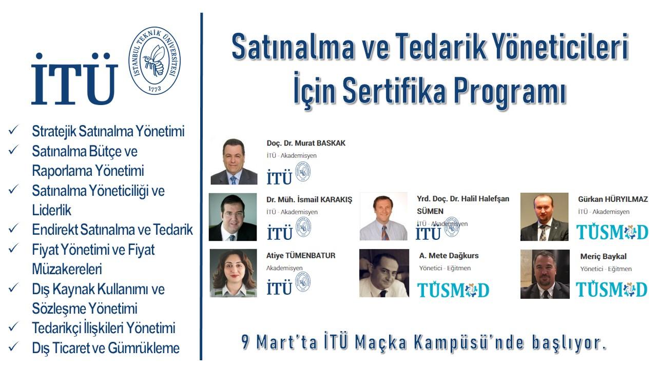 Satınalma ve Tedarik Yöneticileri için Sertifika Programı
