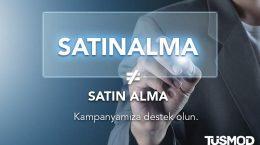 """""""Satın Alma"""" değil """"SATINALMA"""""""