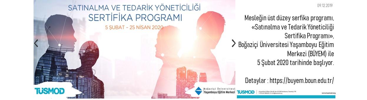 Satınalma ve Tedarik Yöneticiliği Sertifika Programı