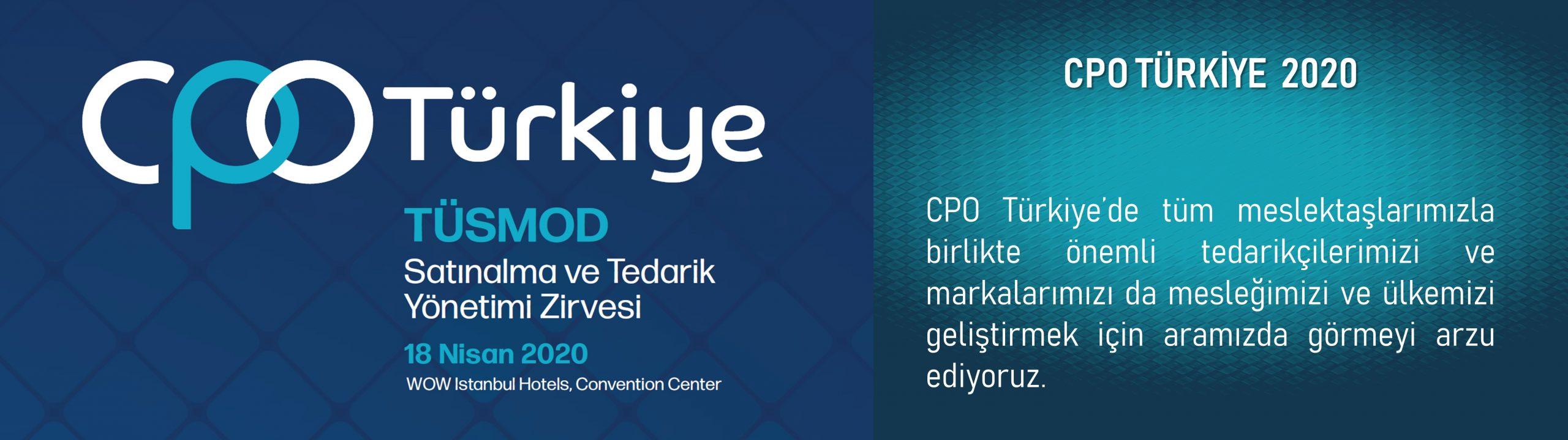 CPO Türkiye 2020