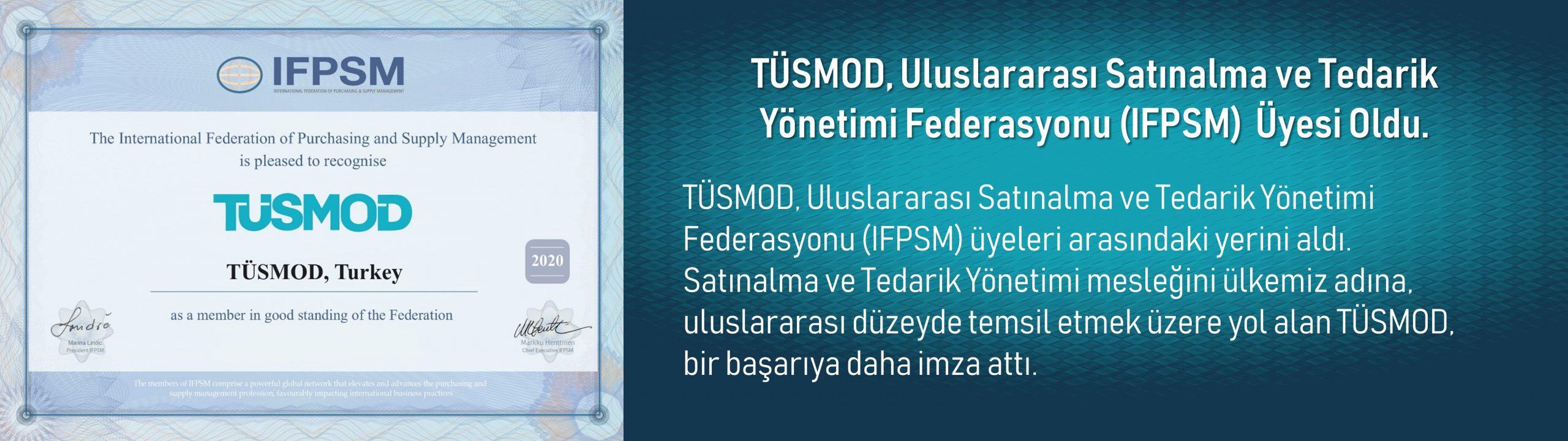 TÜSMOD IFPSM Üyeliği