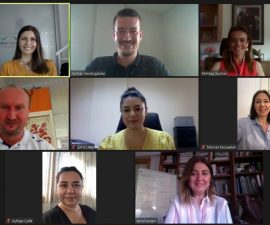 TÜSMOD EGE Yönetim Kurulu ve İZİKAD online platformda bir araya geldi.