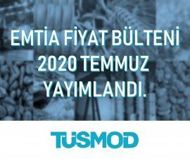 Emtia Fiyat Bülteni 2020'07