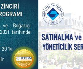 """Boğaziçi Üniversitesi onaylı uluslararası """"Satınalma ve Tedarik Zinciri Yöneticilik Sertifika Programı"""" 12 Nisan'da ONLINE/HİBRİD olarak başlıyor…"""