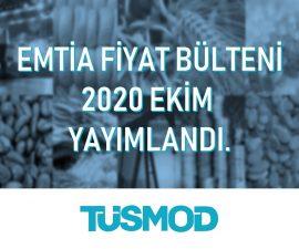 Emtia Fiyat Bülteni 2020'10