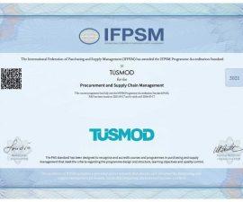 TÜSMOD Sertifika Programına Uluslararası Akreditasyon