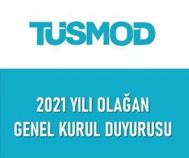 Olağan Genel Kurul Duyurusu 2021